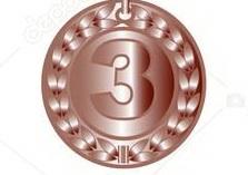 medalja zlatna 1